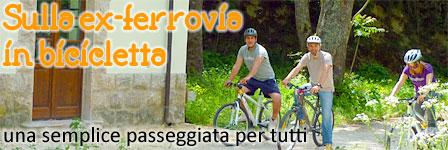 Ex ferrovia Spoleto Norcia in bici